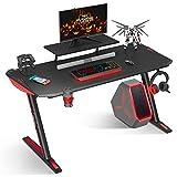 MOTPK Z Shaped Computer Gaming Desk