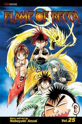 [Flame of Recca: v. 25] (By: Nobuyuki Anzai) [published: May, 2010]