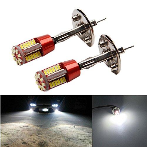 FEZZ LED Bombillas de Coche Auto LED H1 3014 57SMD Lamparas Iluminación Para faros...