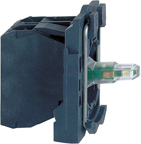 Schneider Electric portalámparas ZB5AW0B62 M.LED-Mod, BL 24 V 1nc bloque de casquillo para mando - y notificación 3389110908671