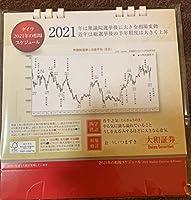 大和証券 2021年 卓上カレンダー