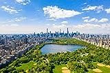 Poster Plakat Central Park USA von oben M145 hochwertiger