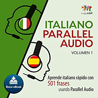 Couverture de Italiano Parallel Audio [Italiano Parallel Audio] (Spanish Edition)