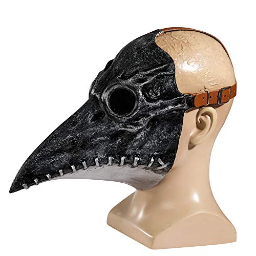 JHHXW Los médicos plaga Máscara aves Pico, Steampunk