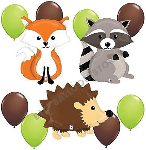 precioso Woodland Critters Critters Critters 11pc Balloon Party Kit by Betallic  Precio al por mayor y calidad confiable.