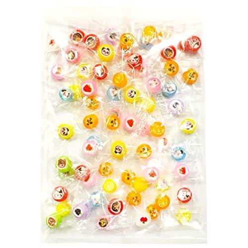 金扇 ミニラブリー キャンディ 300g 個包装 約70粒 フルーツ味 どうぶつ くだもの 金太郎飴