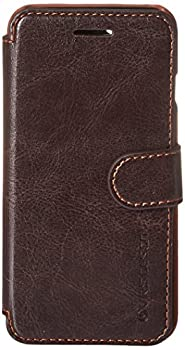 iPhone 6S Case Verus [Layered Dandy][Coffee Brown] - [Premium Leather Wallet][Slim Fit][Card Slot] For Apple iPhone 6 6S 4.7