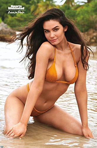 "Trends International Sports Illustrated: Swimsuit Edition - Anne de Paula 20 Wall Poster, 22.375"" x 34"", Premium Unframed Version"