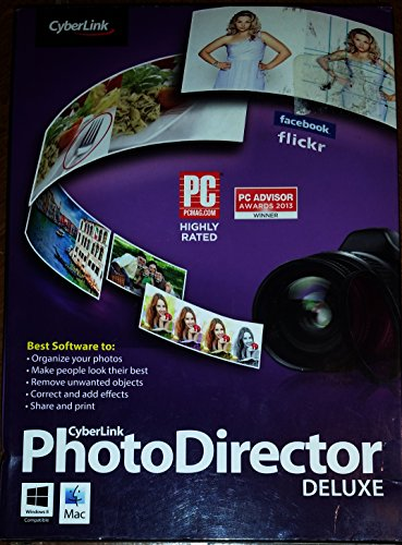 CyberLink PhotoDirector 4 Deluxe PC / Mac