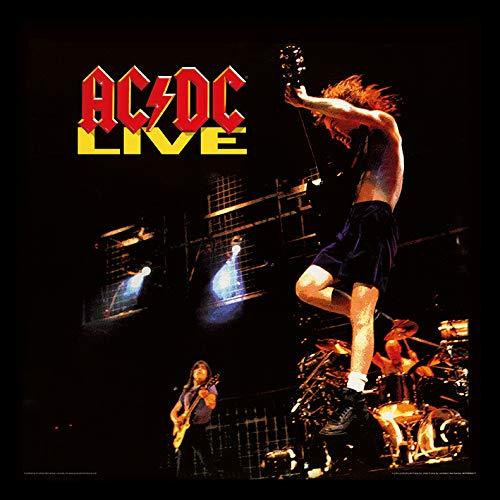 AC/DC (Live) 31.5 x 31.5 cm objet Souvenir