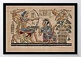 Hieroglyphen Ägypten Kunstdruck Poster -ungerahmt- Bild