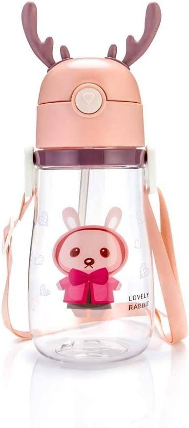 Direct store XIAMIAO Children Limited time cheap sale Cartoon Kids Water Bottle fo Outdoor Straw with