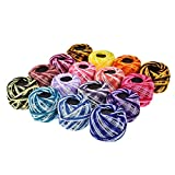 XXYHYQHJD Bordado de Hilo 16pcs Color de la Mezcla/Set de Costura de Hilo de Bordado de Punto de Cruz Tema DIY de Coser Accesorios for Herramientas (Color : Mix Color Floss, Size : A)