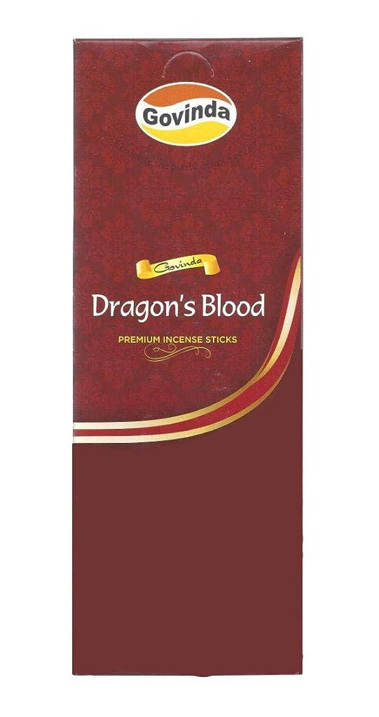 コンデンサー演じる同情Govinda Incense?–?Dragon 's Blood?–?120?Incense Sticks、MasalaコーティングIncense