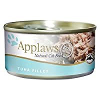 Applaws Tuna with Seaweed Tin is a premium complementary cat food made using only the natural ingredients listed on the label For cats that deserve to be spoilt Applaws is a completely natural complementary pet food for cats