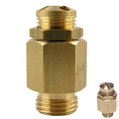 Mini-Sicherheitsventile einstellbar, nicht bauteilgeprüft, Messing (G 1/4