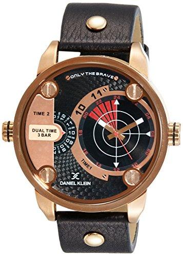 Daniel Klein Analog Black Dial Men's Watch - DK11114-1