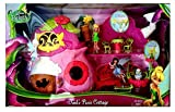 Disney New Fairies Tinkerbell Tinks Pixie Cottage Toy House Playset Plus Free Bonus Bundle!!