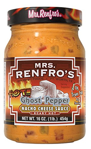 Mrs. Renfro's Nacho Cheese Dip with Ghost Pepper, 2 Pack
