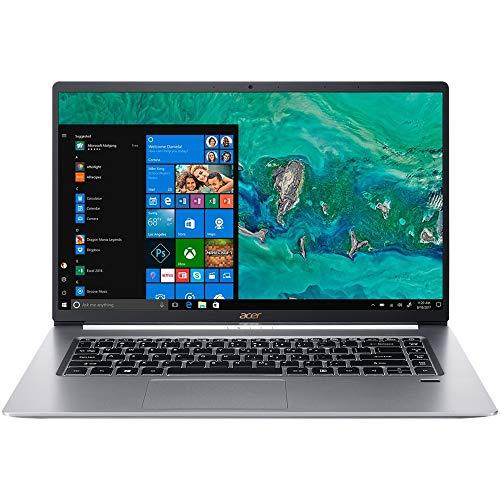 Acer Swift 5 15.6' Ultra-Thin & Lightweight Laptop, FHD Touchscreen, Intel Core i7-8565U, IPS, Back-lit Keyboard, Windows 10, Silver (16GB RAM   512GB PCIe SSD + 512GB SSD)