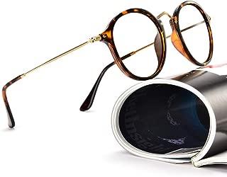 Eyeglasses Frame Round Glasses Blue Light Blocking Glasses Computer Game Glasses Square Unisex