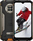 Smartphone ohne Vertrag, DOOGEE S96 PRO Handy ohne Vertrag, 8 GB + 128 GB, 48 MP + 20 MP, 6,22 Pouces, 6350mAh, Antichoc/étanche/NFC 0utdoor Smartphone, Orange