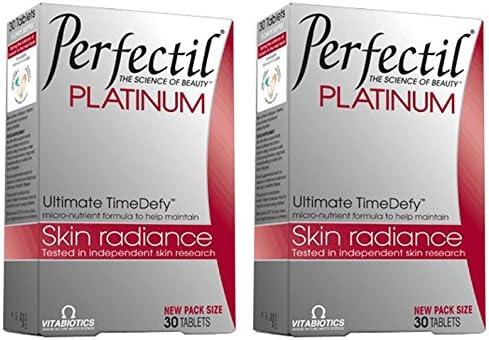 Vitabiotic 2 Pack - 30's Philadelphia Mall Bundle Perfectil Max 64% OFF Platinum