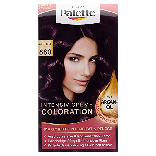 Poly Palette Coloration Stufe 3, 880 Aubergine, 115 ml