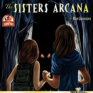 The Sisters Arcana audiobook cover art