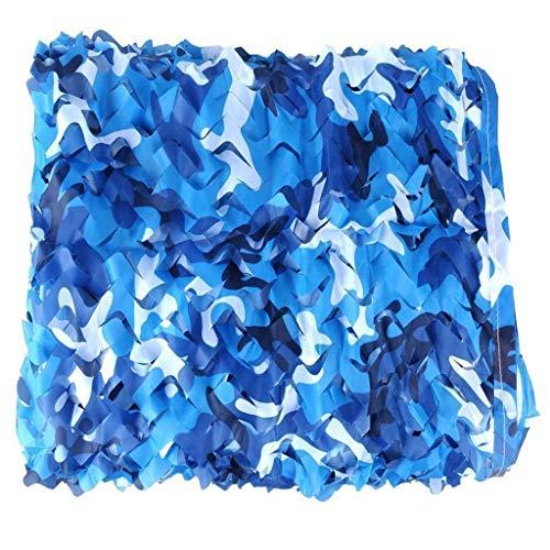 WZHCAMOUFLAGENET Ocean Mode Camouflage Double Rope Mesh Gewebt Oxford Tuch Outdoor Pool Sonnenblende Dekoration Verstecktes Schattennetz Multi-Größe Optional (größe : 5 * 5m)