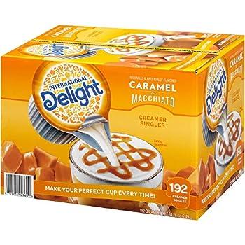 International Delight Caramel Macchiato Creamer -- 192 per case.