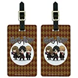 Harry Potter Anime Characters Luggage ID Tags Suitcase Carry-On Cards - Set of 2