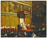 NC68 《Papst Pius VII. In der Sixtinischen Kapelle》