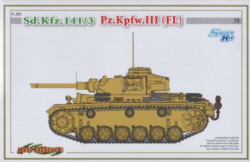 Cyber Hobby 1/35 Sd.Kfz. 141/3 Pz.Kpfw. III (FI) #80 Limited