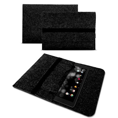 UC-Express Sleeve Hülle für Samsung Galaxy Book 10 Tasche Filz Schutzhülle 10.6 Zoll Cover, Farben:Dunkel Grau