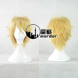 FidgetGear Maid Sama! Takumi Usui Axis Powers Arthur Kirkland Cosplay Wigs 35cm Short Hair Show One Size