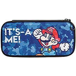 Nintendo Switch Lite - Consola + Funda Slim Travel Case Edición Mario Camo, Amarillo: Amazon.es: Videojuegos
