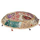 Stylo Culture Cuscino da pavimento, 100 x 100 cm, etnico, rotondo, grande, cuscino da pavi...