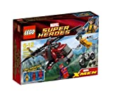 Lego Marvel Superhelden Super Heroes 6866 Wolverine's Chopper Showdown - Wolverine's Einsatz