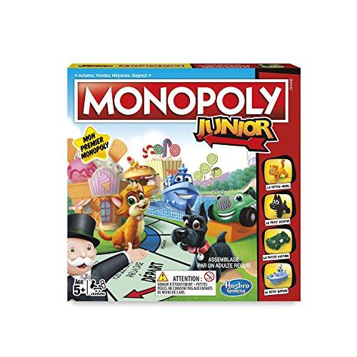 Monopoly - Jeu de Societe Junior - Jeu de Plateau - Version Française