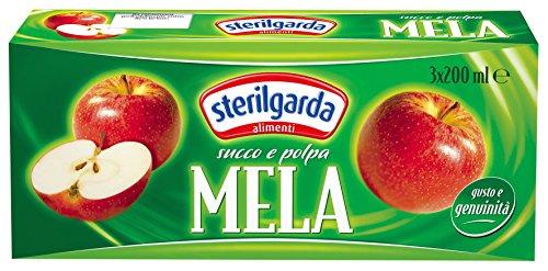 Sterilgarda Succo e Polpa Mela - Pacco da 24 x 200 ml