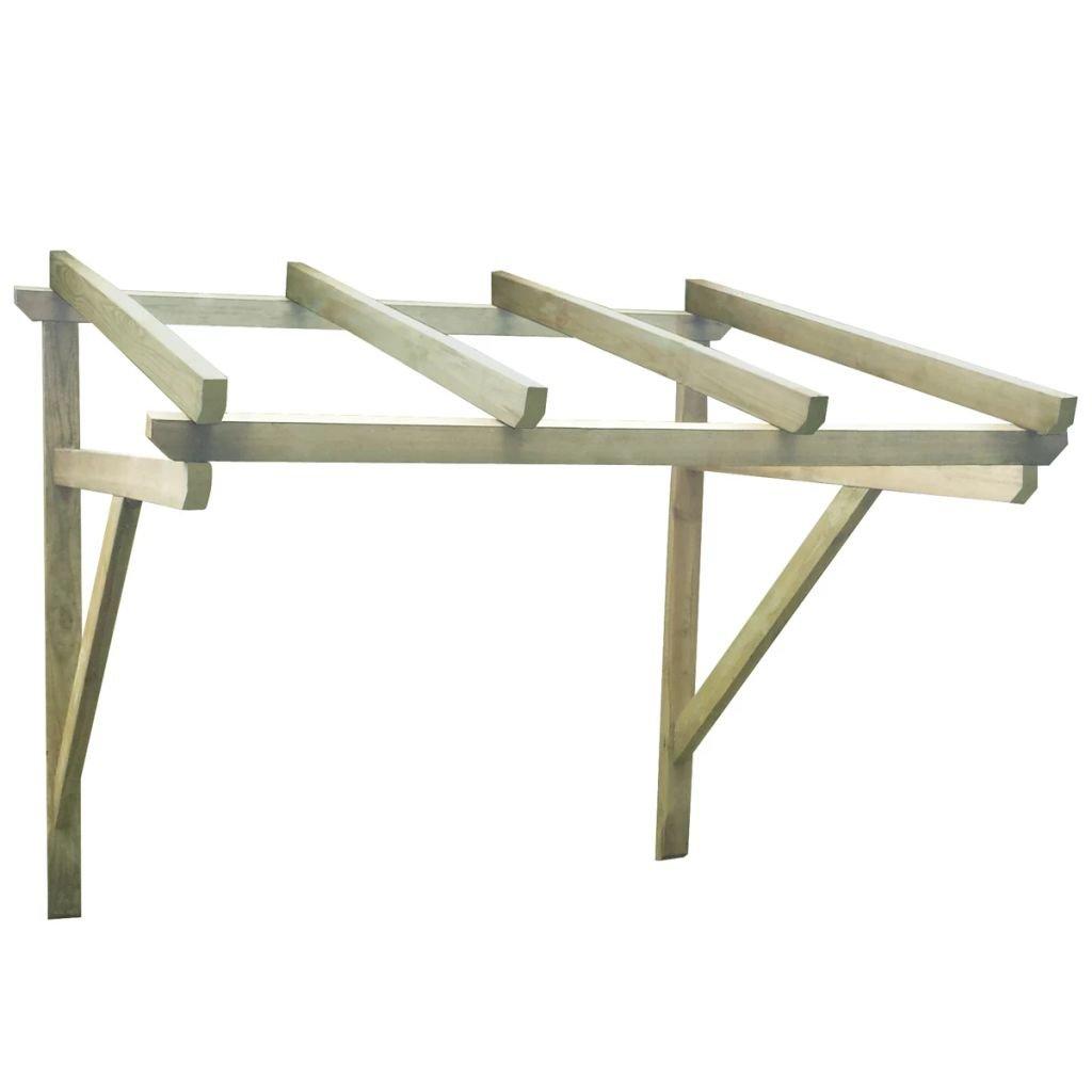 Furnituredeals toldo Exterior Pergola de Madera para la Puerta, 200 x 100 x 160 cm toldos Impermeables: Amazon.es: Jardín