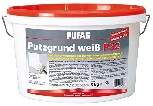 PUFAS Putzgrund weiß P 32 8 kg