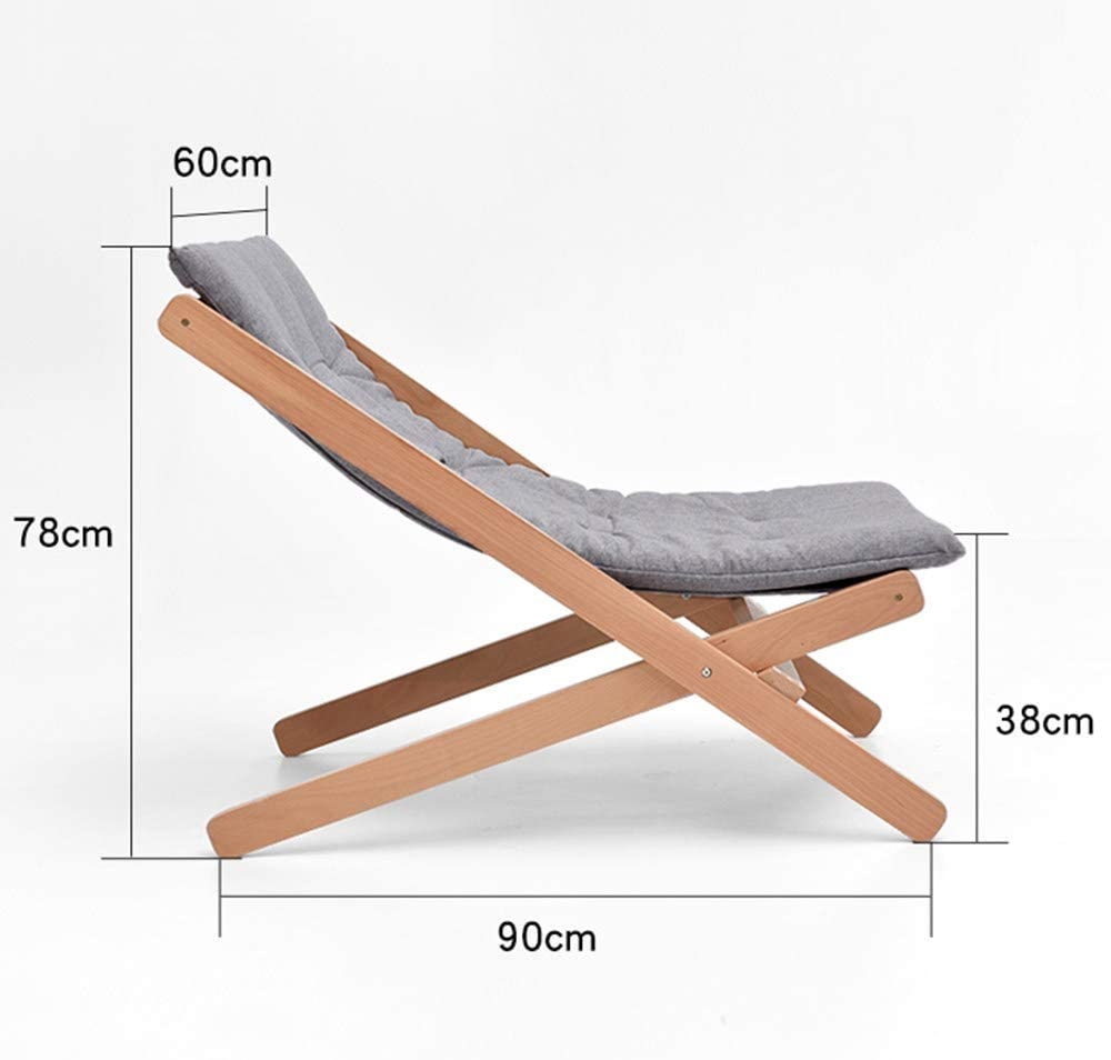 JDBDYA Armchairs Folding Chairs Lounger Armchair with Adjustable Footrest, Ideal for Living Room, Office, Terrace, Non-Slip, for Dining, Lounge and Bedroom Chairs,Brown Grey