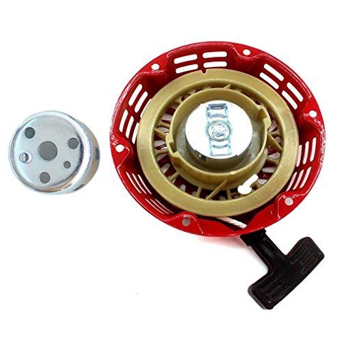 AISEN Démarreur à câble compatible avec Honda GX120 GX140 GX160 GX200 5,5 CV 6,5 CV Démarreur manuel