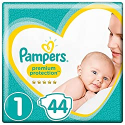 Baby crying - Pampers nappies