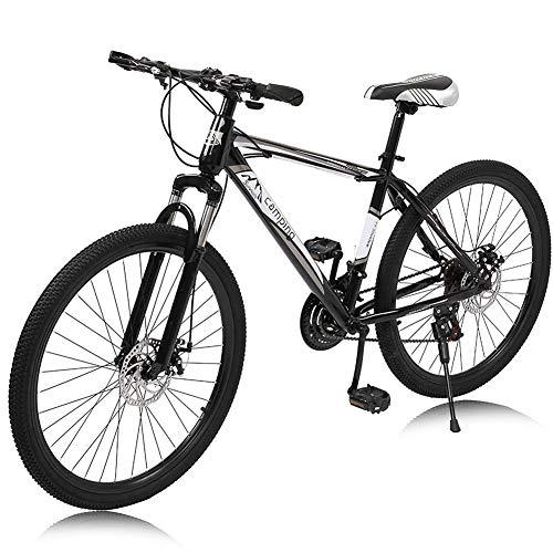 Bicicleta De Montaña 26 Pulgadas 21 Velocidades,horquilla Delantera Amortiguadora Bicicleta De Carretera Suspensión Completa Bicicletas MTB Para Adultos De Los Hombres Mujeres