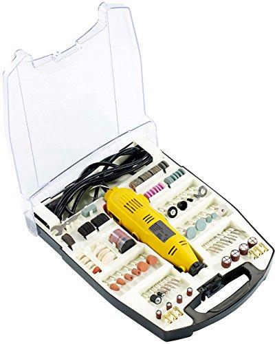AGT Minibohrmaschine: Multifunktionswerkzeug MFW-300, 233 Teile (Minischleifer)