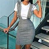 LJLLINGA Faldas de Verano para Mujer, Minifalda Corta para M