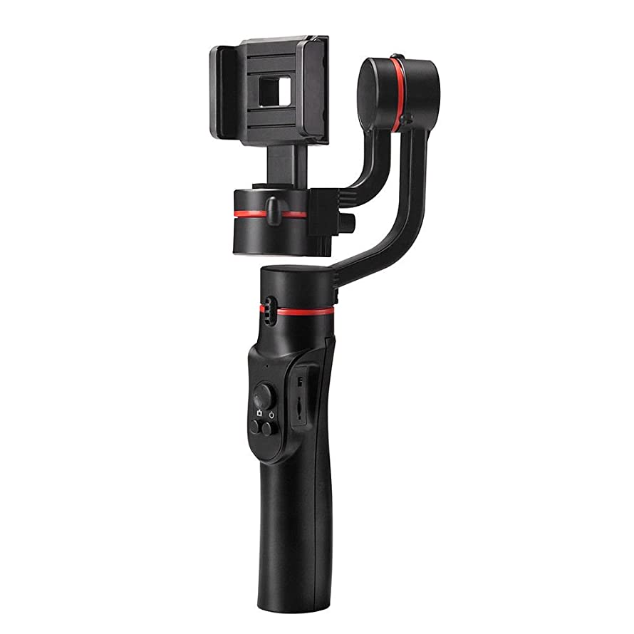 Tulas Handheld Mobile Phone Gimbal Stabilizer 360 Degree Panoramic for Smart Phone Photography